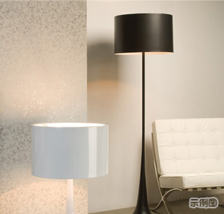 Northern Europe creative LED floor light for bedroom