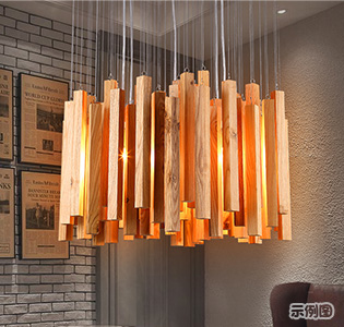 Northern Europe creative LED pendant light