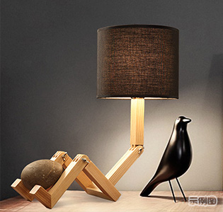 Wood pendant lamp light modern led pendant lamp lights
